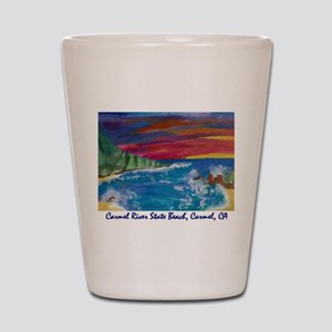 Carmel State Beach, Carmel CA 700 Shot Glass