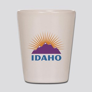Idaho Shot Glass