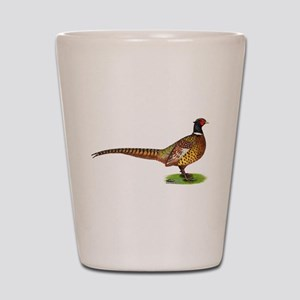 Proud Ringneck Pheasant Shot Glass