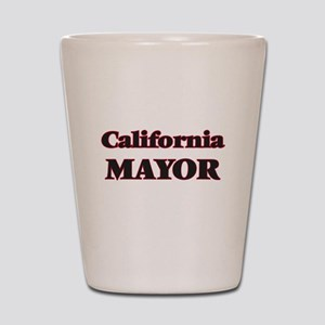 California Mayor Shot Glass
