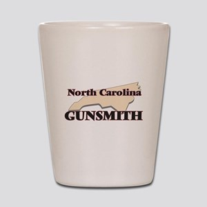 North Carolina Gunsmith Shot Glass
