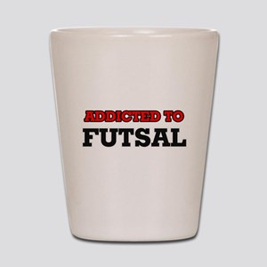 Addicted to Futsal Shot Glass