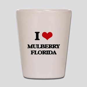 I love Mulberry Florida Shot Glass
