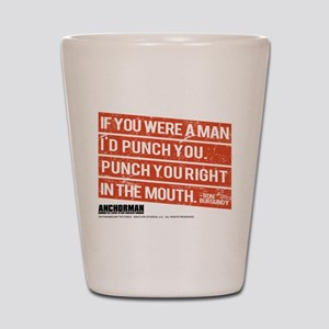 Punch You Shot Glass