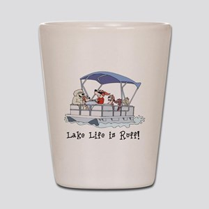 Pontoon Boat Shot Glass