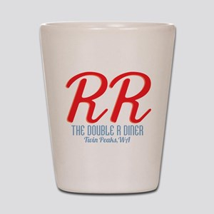 Twin Peaks Double R Diner Shot Glass