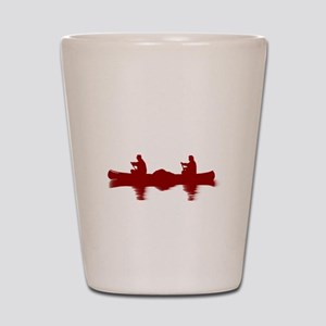 RED CANOE Shot Glass