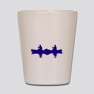 BLUE CANOE Shot Glass