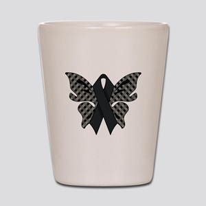 BLACK RIBBON Shot Glass