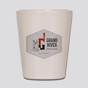 Grand River Brewing Logo Shot Glass