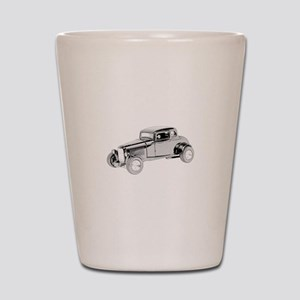Ford Coupe 1932 -colored Shot Glass