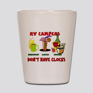 RV CAMPERS Shot Glass