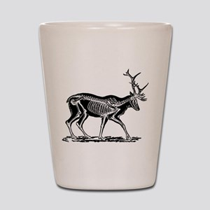 Stag Skeleton Shot Glass