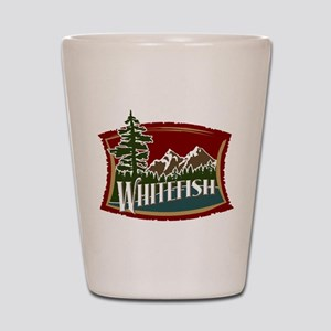 Whitefish Mountain Shot Glass