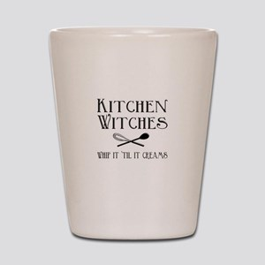 Kitchen Witches Shot Glass