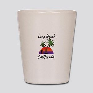 Long Beach California Shot Glass