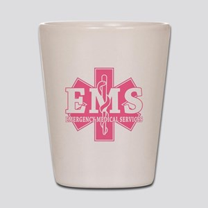 Star of Life EMS (pink) Shot Glass
