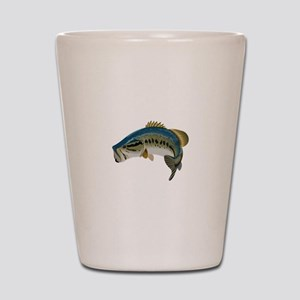LARGE MOUTH BASS Shot Glass