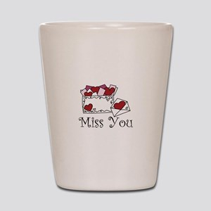 Miss You Shot Glass