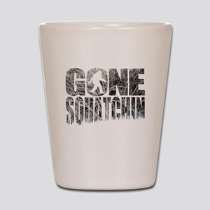 Gone Squatchin *Winter Woods Edition* Shot Glass