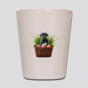 Easter Cane Corso puppy Shot Glass