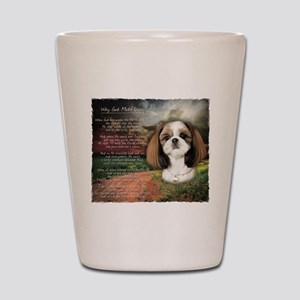 """Why God Made Dogs"" Shih Tzu Shot Glass"