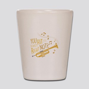 The Right Note Shot Glass