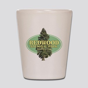 Redwood National Park Shot Glass