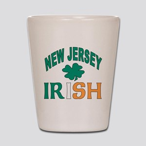 New jersey irish Shot Glass