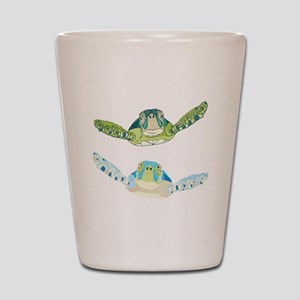 Sea Turtles Shot Glass