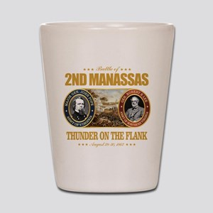 2nd Manassas (FH2) Shot Glass