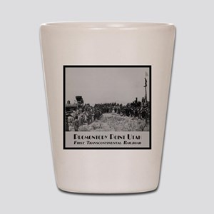 Promontory Point Utah Shot Glass