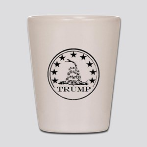 TRUMP DON'T TREAD ON ME Shot Glass