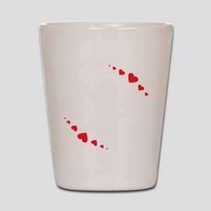 Love Quotes Love Always Finds a Way Shot Glass