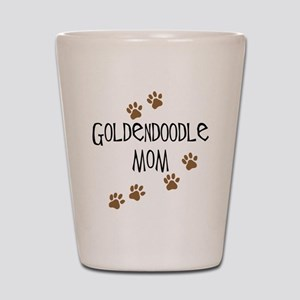 Goldendoodle Mom Shot Glass