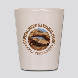Capital Reef NP Shot Glass