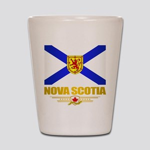 Nova Scotia Flag Shot Glass