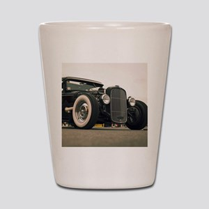 Hot Rod Shot Glass