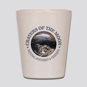Craters of the Moon Shot Glass