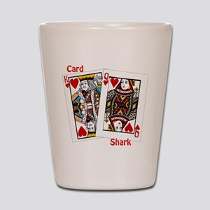 card shark Shot Glass