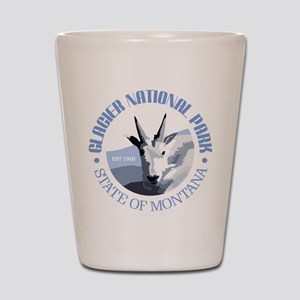 Glacier National Park (goat) Shot Glass