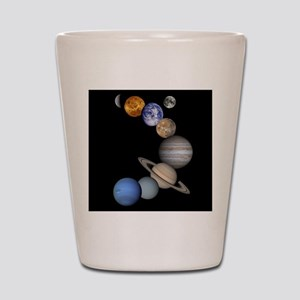 Our Solar System planets Shot Glass