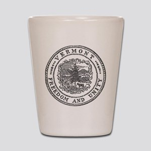 Vintage Vermont seal Shot Glass