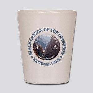 Black Canyon of the Gunnison Shot Glass