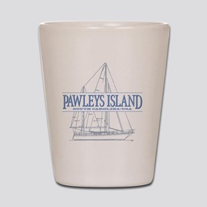Pawleys Island Shot Glass