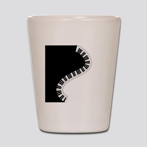 Piano Keyboard Shot Glass