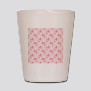 Pink Roses Shot Glass