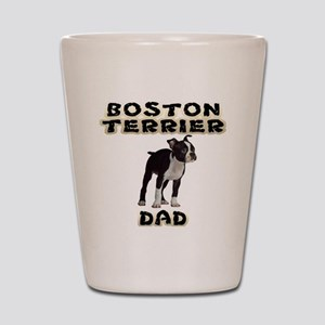 Boston Terrier Dad Shot Glass