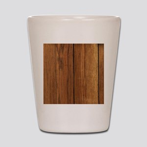 western country barn wood Shot Glass