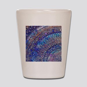 Midnight Jewel Mandala Shot Glass